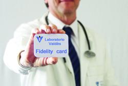 Fidelity card Valdès